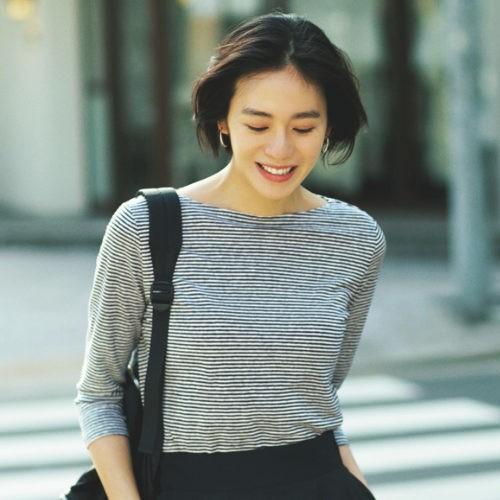 気ままな休日は、定番アイテムを使った大人のTシャツコーデで♡【2019/6/30のコーデ】_3