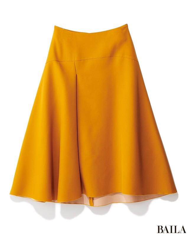 腰高フレアスカートで、きちんとジャケットを華やか&女っぽく!_2_1