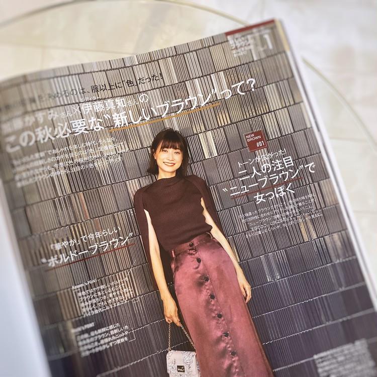 ZARAとGUで作る秋のカジュアルブラウンコーデ♡_5