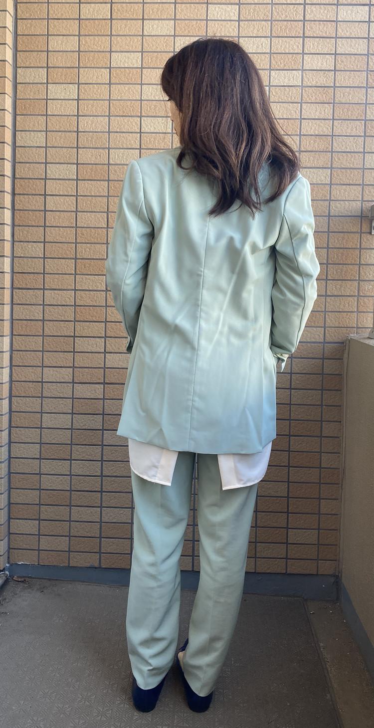【GU】流行のバンドカラーシャツは低身長でも着こなせる!_3_2
