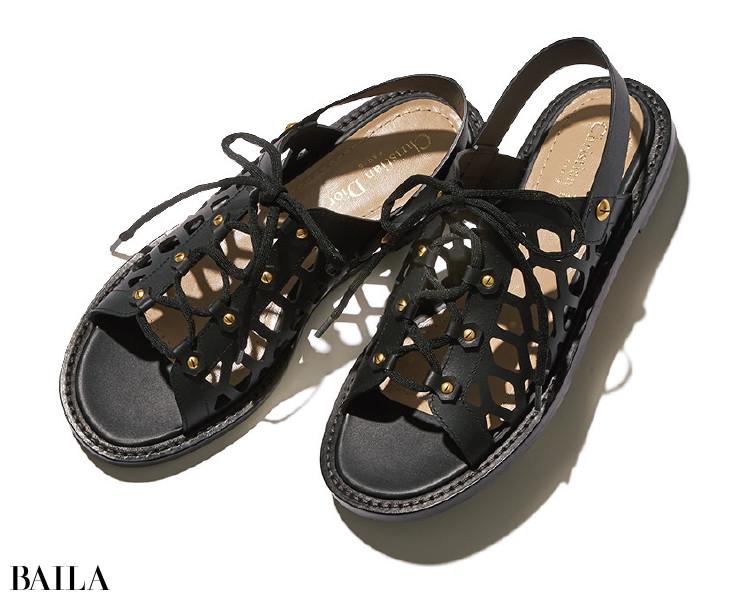 ディオールの靴「D-TRAP」