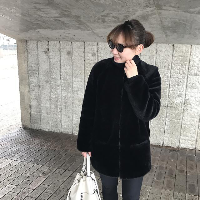 【週4ブランド】ZARAでオールブラックコーデ♡_2