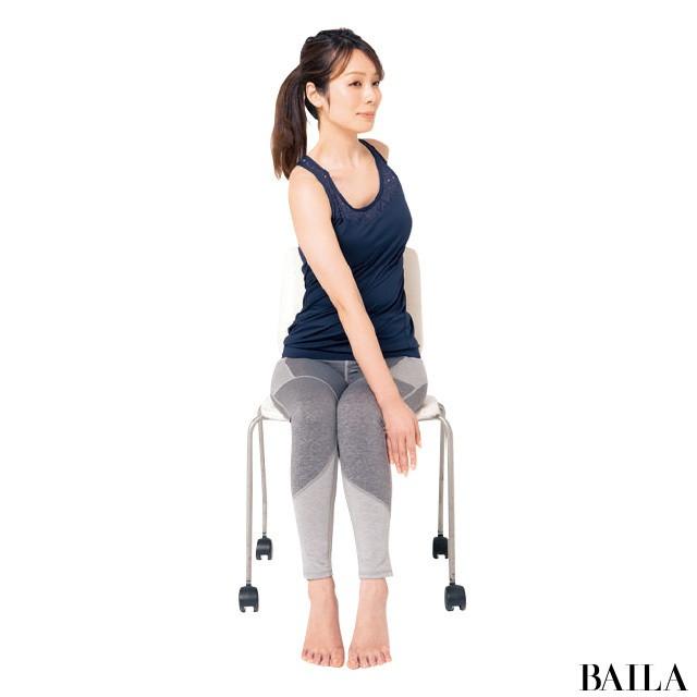 オフィスでできる!3筋肉を鍛えて姿勢美人【姿勢で-2kgヤセ見え⑨】_1_2