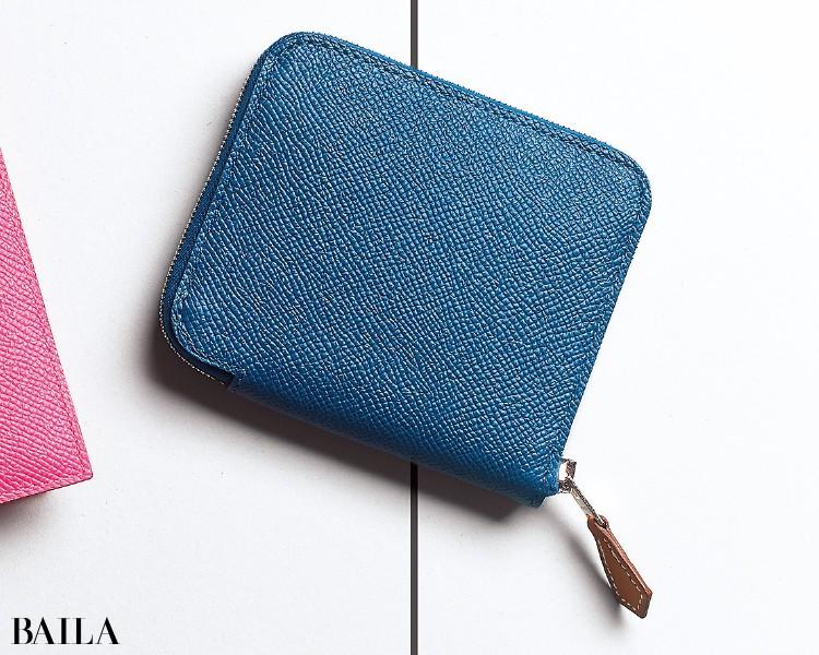 エルメスの財布「シルクイン」