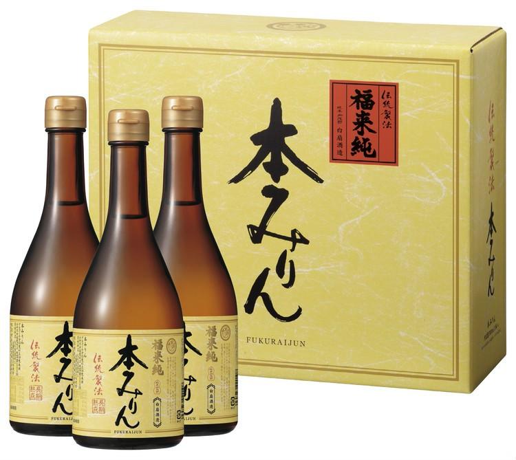 白扇酒造の福来純伝統製法熟成本みりん