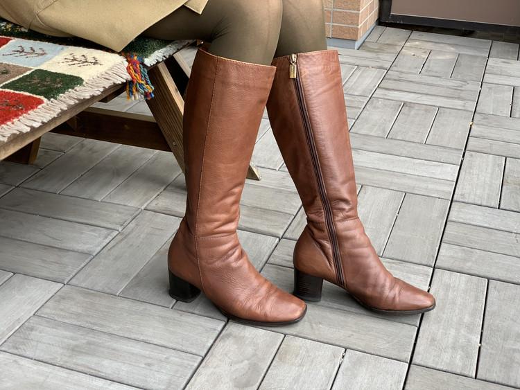 BAILA付録のブラウンタイツと手持ちの靴を合わせてみた!_7