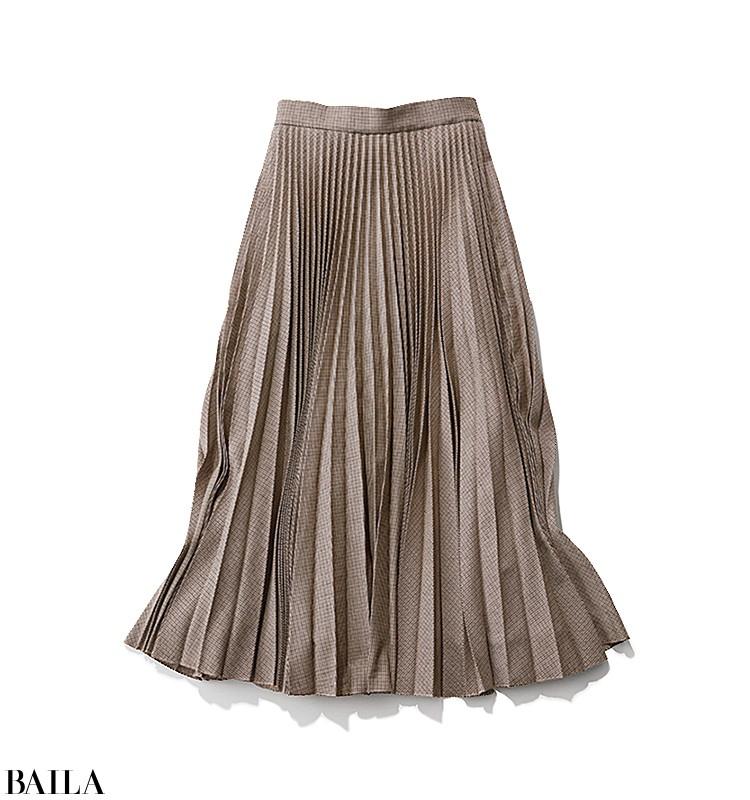 クライアントとの打ち合わせは、旬のCPOジャケット風シャツを使ったスカートスタイルで【2019/11/29のコーデ】_2_2