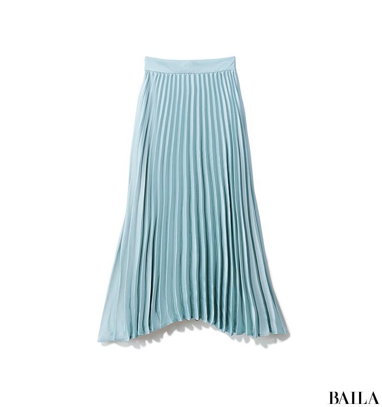彼とレストランデートの日は、きれいめシャツワンピから女っぽいプリーツスカートをちら見せ♡【2019/9/7のコーデ】_2_1