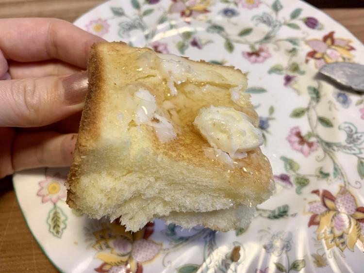 """【速報】モスの""""バターなんていらないかも(略)食パン""""を実食_6"""