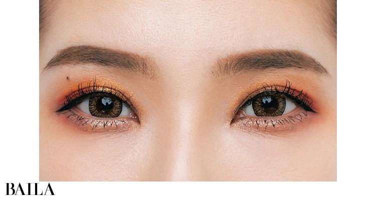 目が四方に拡大して面長もカバーする