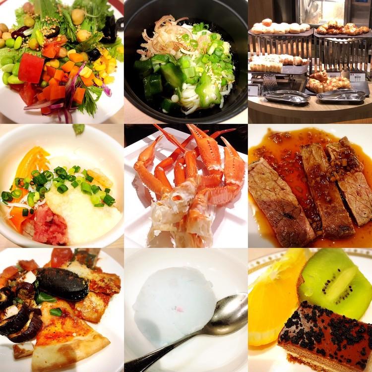 ホテルランチブッフェでゆったりカニ食べ放題【動画あり】_1