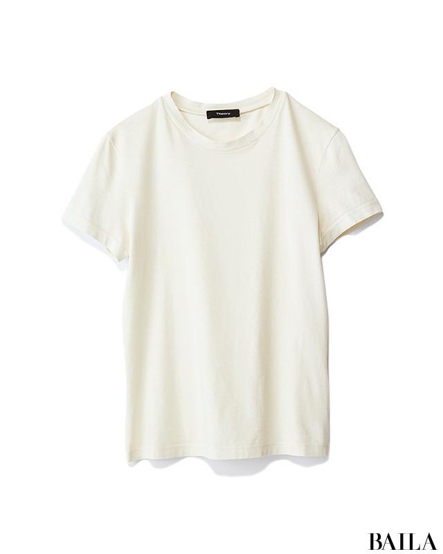 資料作りする日は、楽ちんで気分が上がる白Tシャツコーデ【2019/6/18のコーデ】_2_1