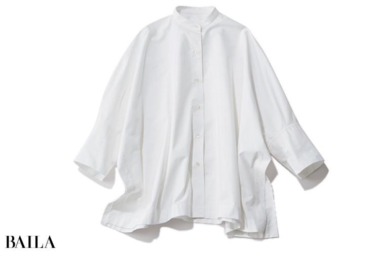 バンドカラー シャツ