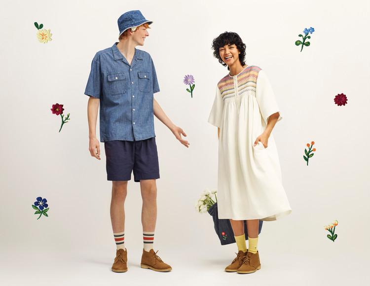 """【ユニクロ アンド JW アンダーソン】2021春夏最新コラボ:最新コラボのテーマは """"Threads in bloom""""(春を紡ぐ)"""
