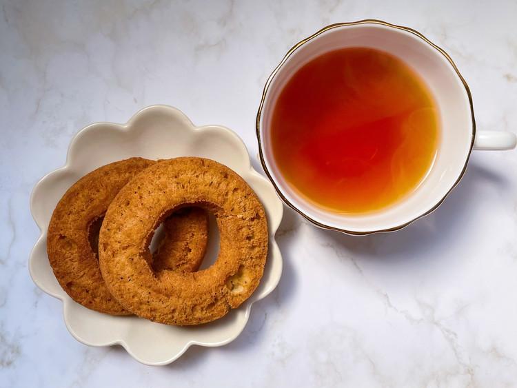 糖質10g以下のお菓子 紅茶ドーナツ・キャラメルドーナツ