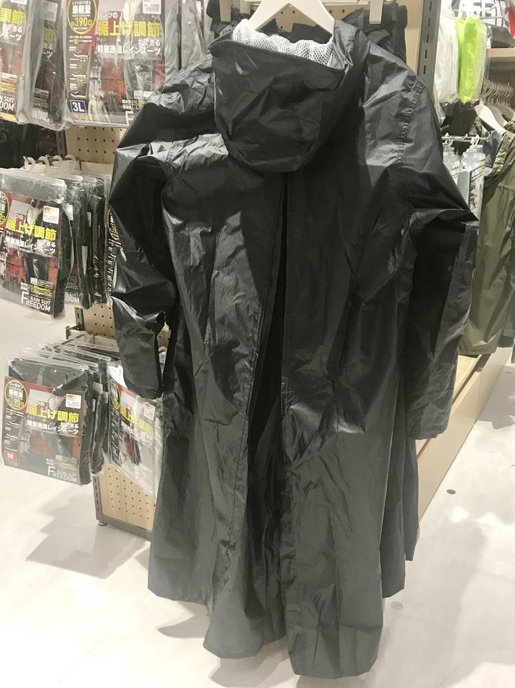 バッグイン透湿レインスーツ¥3900/ワークマン