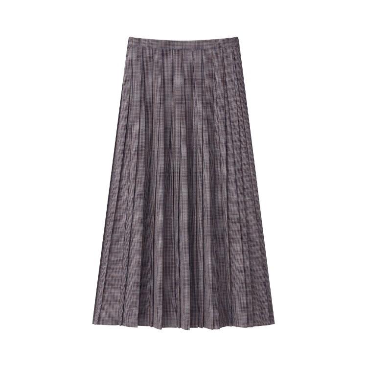 ユニクロ × イネス・ド・ラ・フレサンジュ 2021年秋冬コレクション プリーツスカート¥4990