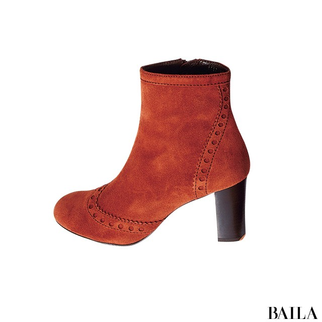 【ブーツ】この秋いちばん使えるから売れてるのはブラウン&太ヒール!_1_7