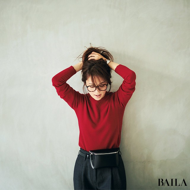 【ユニクロの赤い新作服】が30代のインスタに映える!(#秋のおしゃれToDoリスト)_1_3