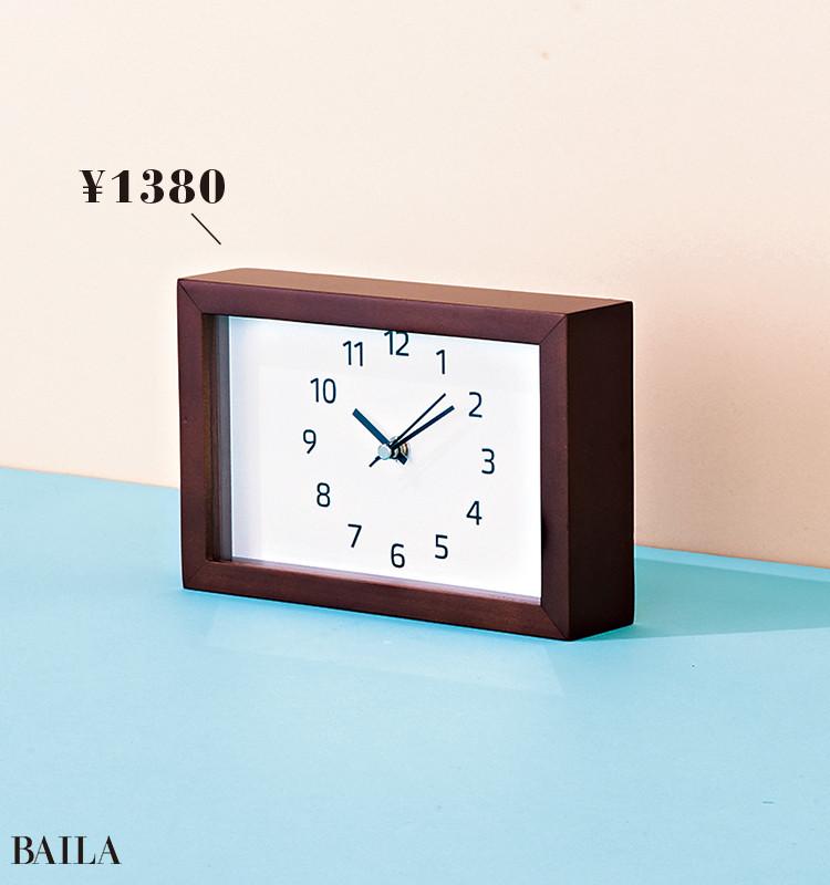 【ニトリ】置き掛け兼用時計    ¥1380