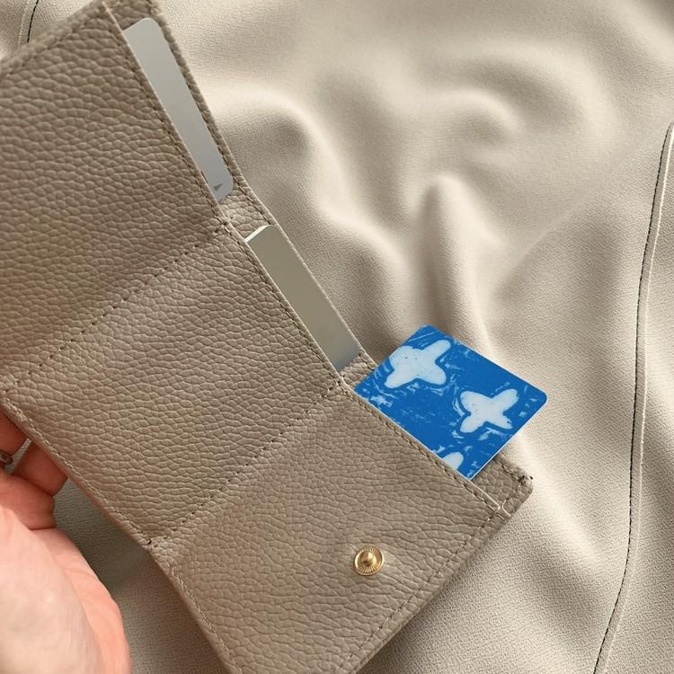 【BAILA4月号】付録のミニ財布がかわいい_2