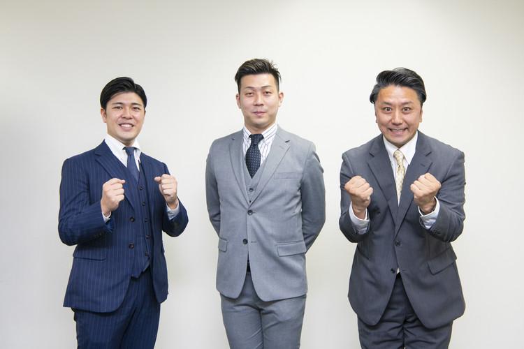 6月南座公演「いぶき、」に出演する児太郎さん、九團次さん、廣松さん