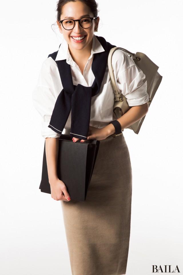 【BAILA3月号&週4ブランド】で通勤服をもっとおしゃれに♡_1