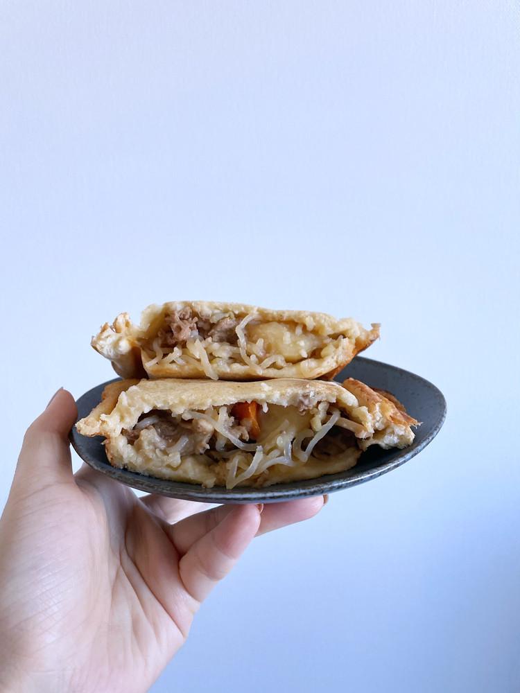 【家事ヤロウ】SNSで話題のホットパンケーキを作ってみた♡_1