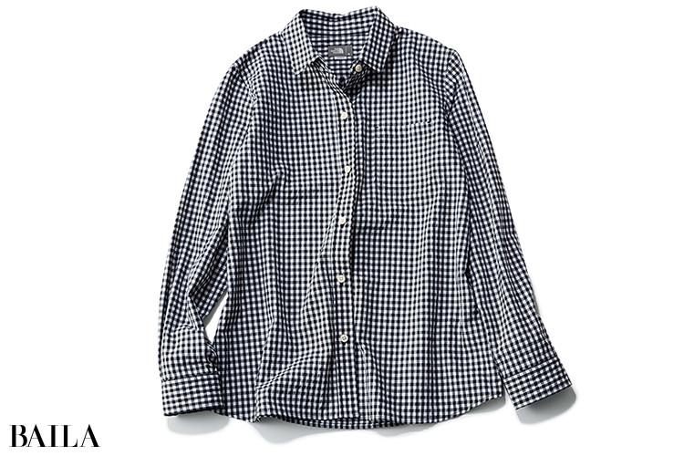 ザ・ノース・フェイスのギンガムチェックシャツ