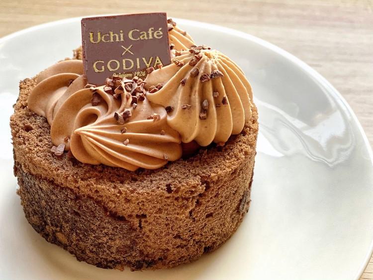Uchi Café × GODIVA ショコラトゥルビヨン