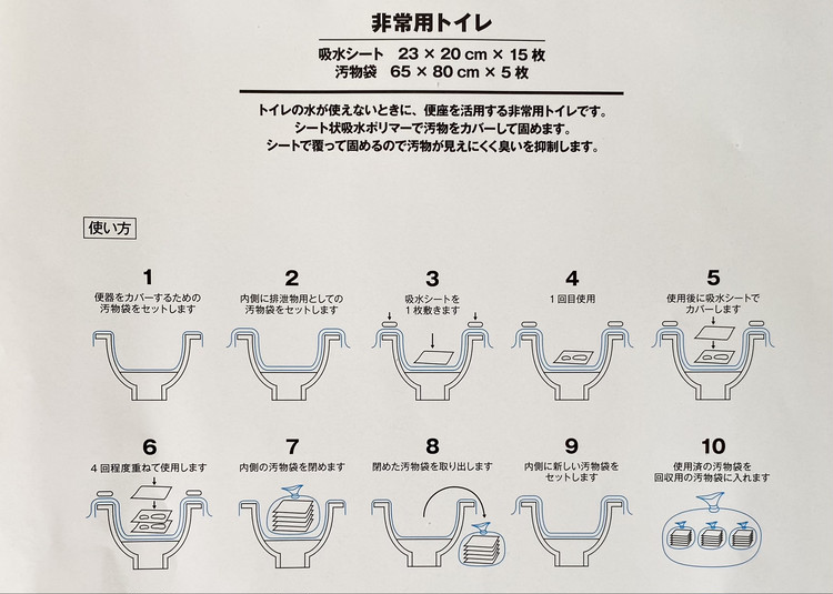 【無印良品】で買えるおすすめ防災グッズ5選 | 東日本大震災から10年 いつものもしも備えるセット 中身 非常用トイレ 使い方