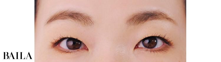 《After》華やかさが出て目の横幅も強化!