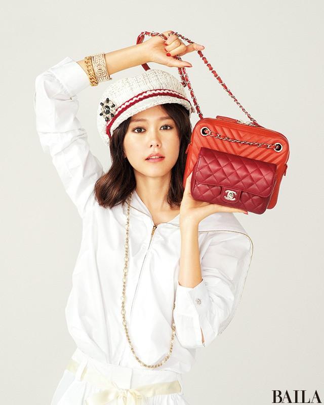 【桐谷美玲♡結婚おめでとう記念】ハイブランドの新作バッグたっぷり魅せます_1_1