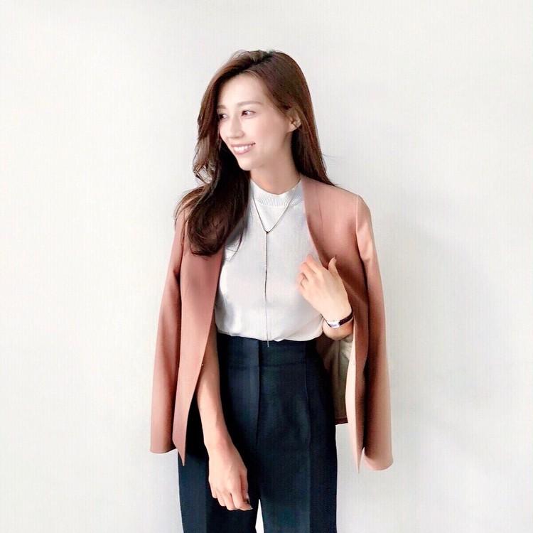 この秋オフィスで着たい、AOKIのキレイ見えジャケットと華やかニット_1