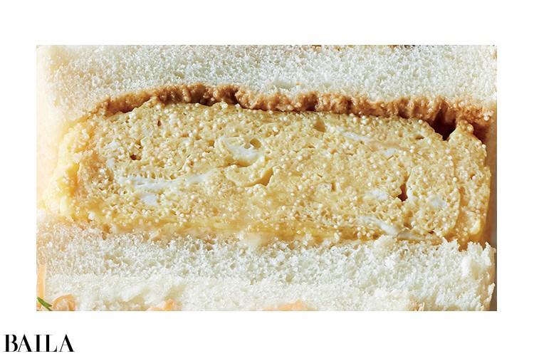 明太子チーズ卵サンド