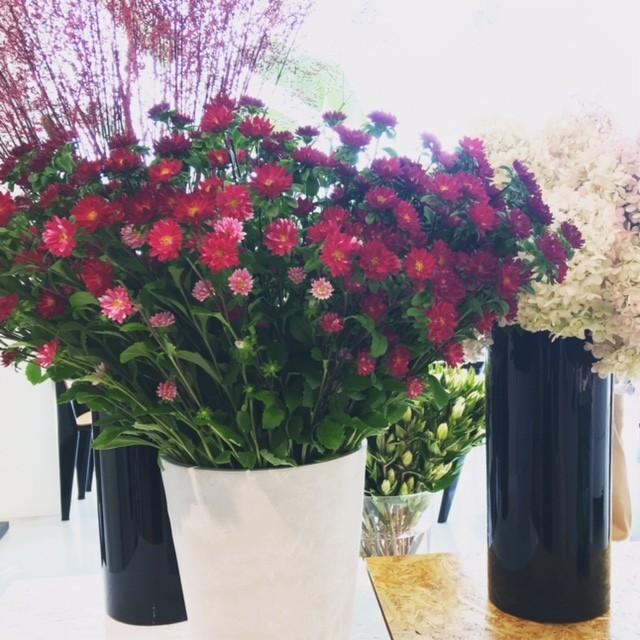 セリーヌ展示会の花あしらいは、やっぱりオシャレ♡_2_6