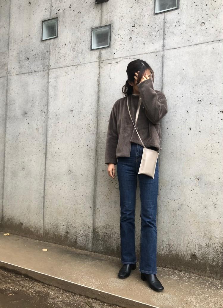 【ユニクロ】高見えするノーカラージャケット_3