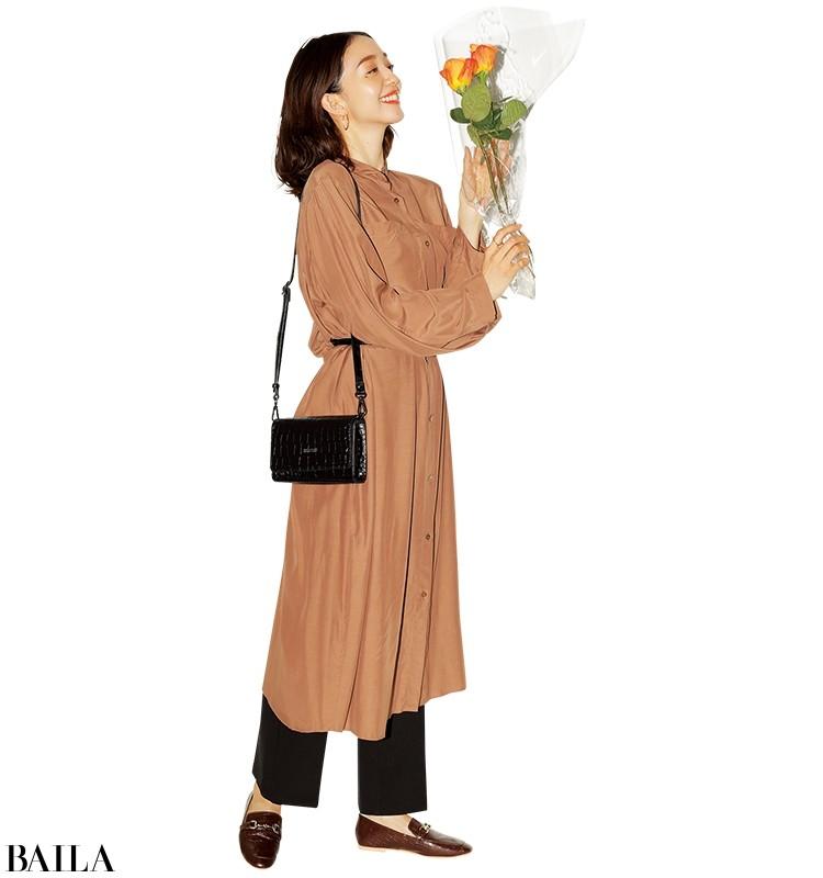 【着やせワンピースまとめ】1枚で着やせもしゃれ見えも!珠玉のワンピ15選_11