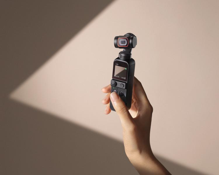 ジンバルつき小型4Kカメラ「DJI Pocket 2」