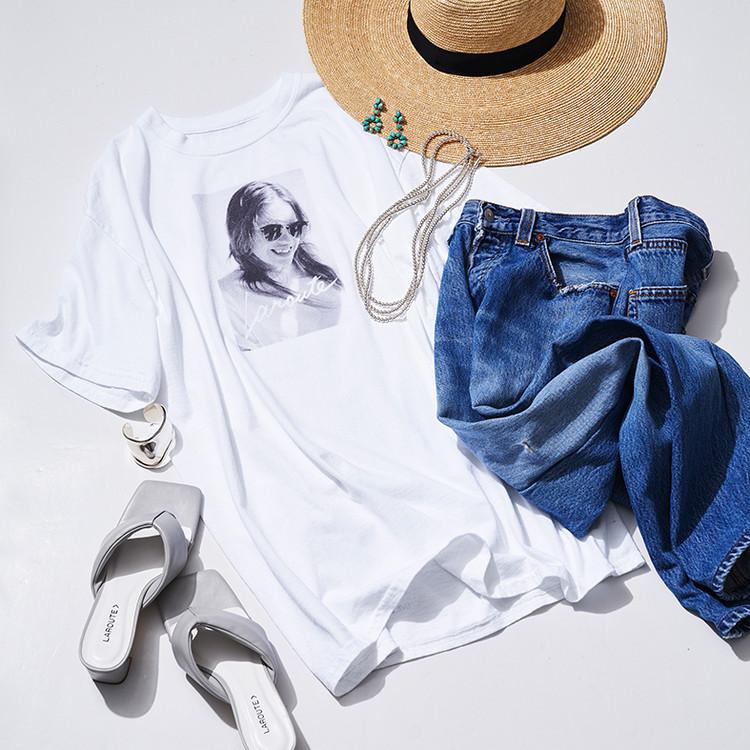 竹内裕二さんコラボLAROUTE(ラルート)のフォトTシャツ