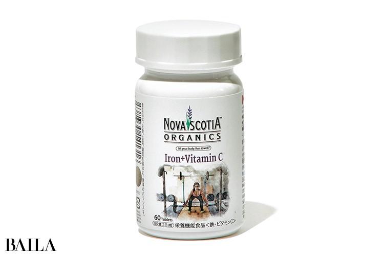 ノバスコシアオーガニックス 鉄分+ビタミンC ベジ鉄ブレンド