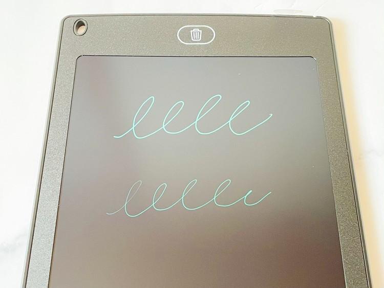 電子メモパッドの使用例