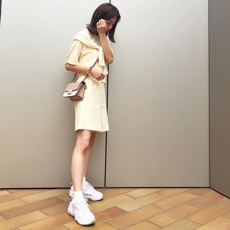 H&Mのセール品♡スウェットセットアップがかわいい_3