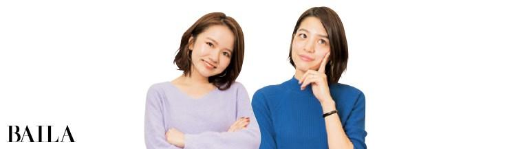 スーパーバイラーズ森田みやびさん(右)と、石本愛衣さん(左)