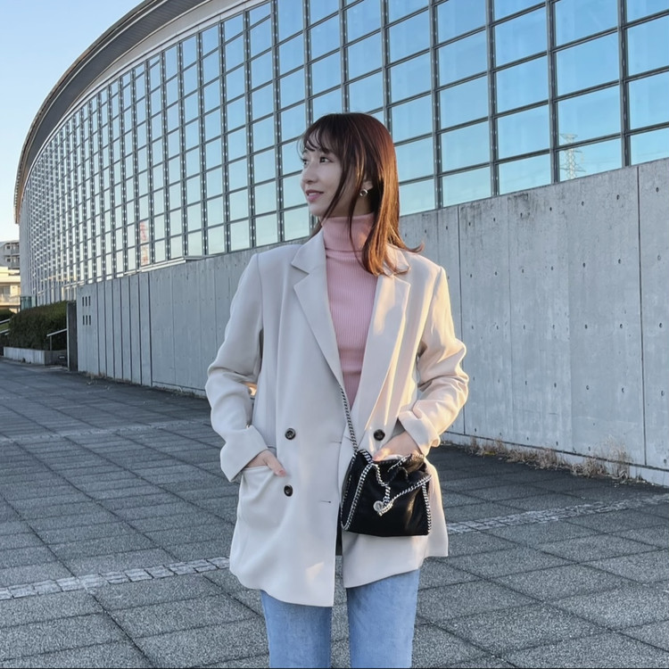【ZARA購入品】トレンドカラーで今からできる春コーデ♡_3