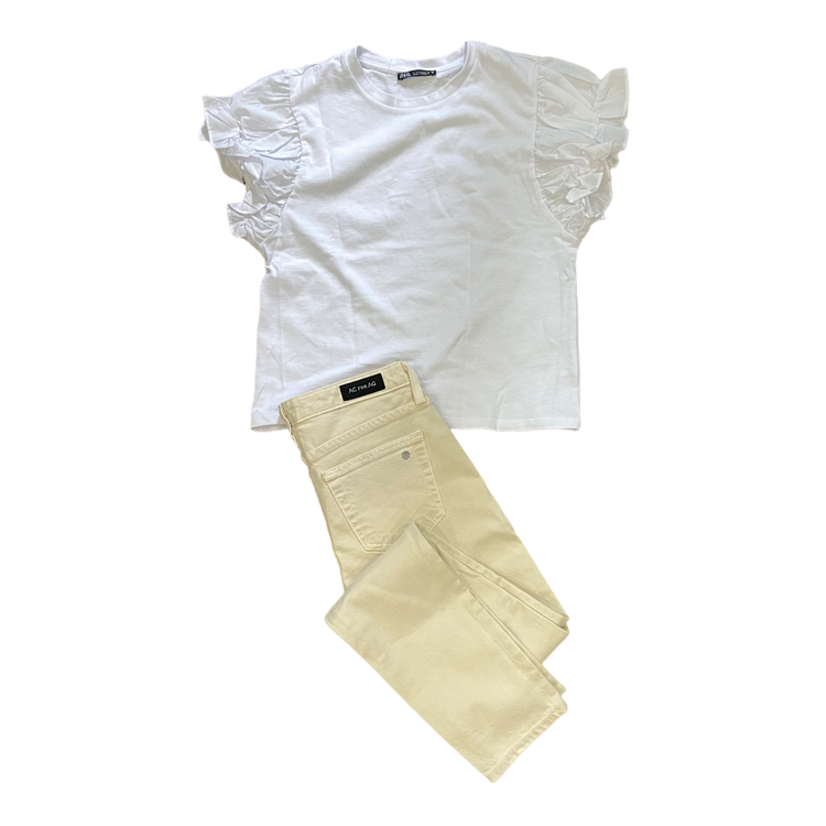 【BAILA 7月号】Tシャツを女っぽく着るアイディア・豪華付録がかなり使えます!_8
