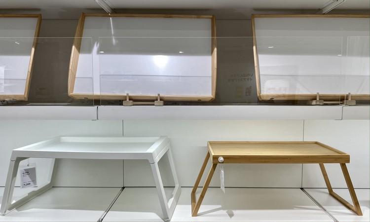 【イケア(IKEA)】渋谷で買って本当によかった! 2021年在宅QOL爆アゲおすすめアイテム 折りたたみ脚つきトレー「レスゴドス(RESGODS)」(高さ25.5×幅52×奥行き29cm・¥1799)