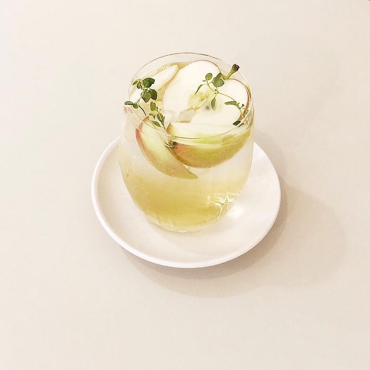 おしゃれなおうちカフェ♡韓国で人気のアップルティーエイドを再現!_3
