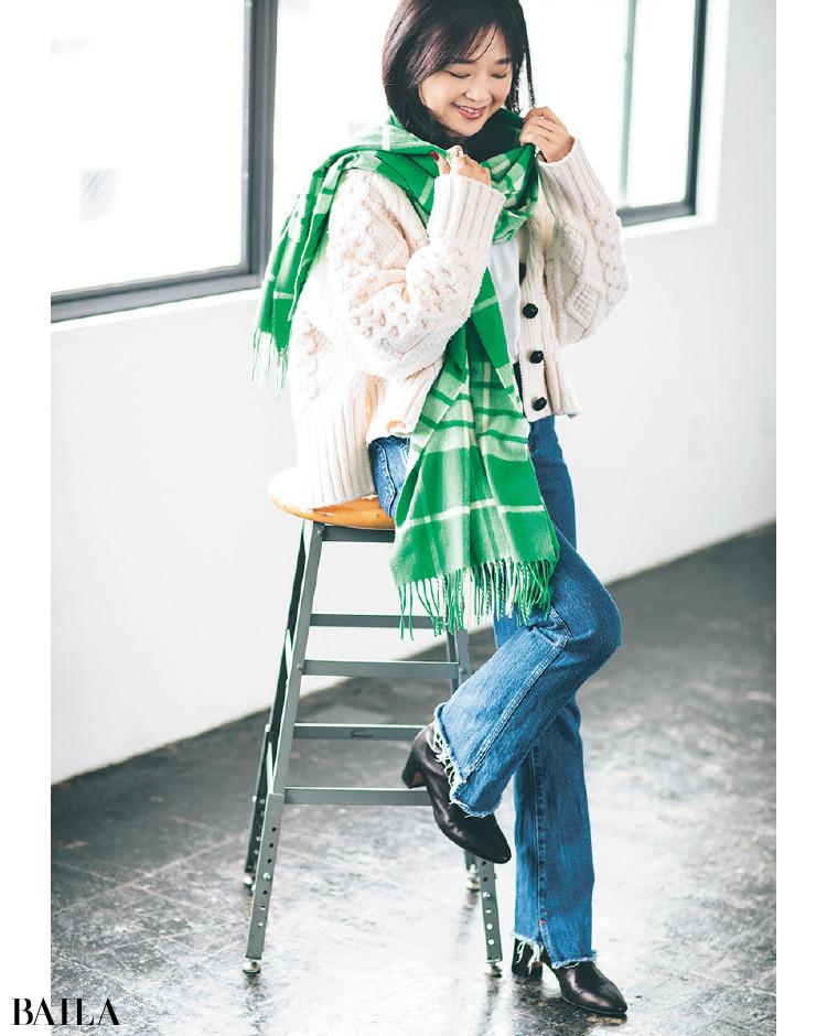【30代スタイリストが私服でアンサーまとめ】リアルだから役に立つ。その冬服はもっと素敵に着られる!_18