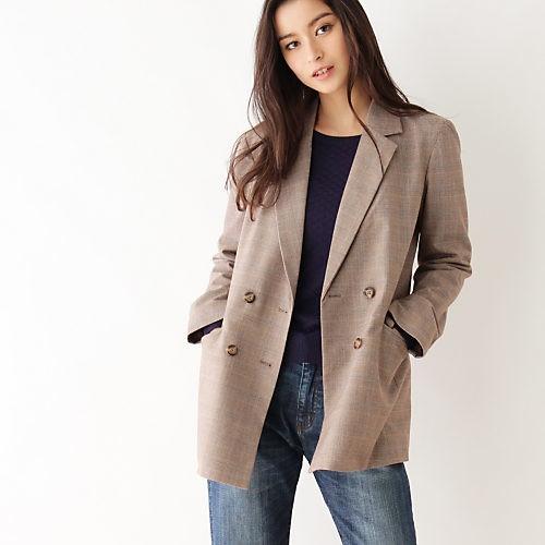 肌寒い日は、ジャケット&トレンチのおしゃれレイヤードスタイルで!_6